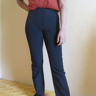 Mango pinstripes trousers