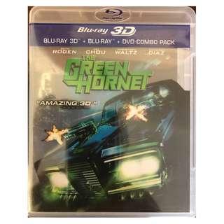 BRAND NEW 3D BLU RAY - THE GREEN HORNET (ORIGINAL USA IMPORT)