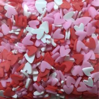Love hearts sprinkles Confetti