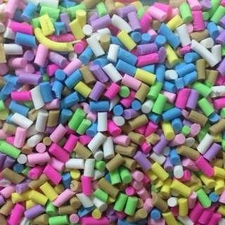 Sugar rainbow sprinkles confetti