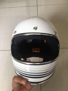 Bitwell helmet + visor + goggle