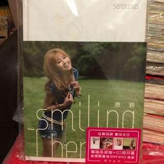 傅穎<<Smiling>>精裝版CD+書籍兩本