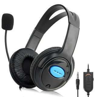 PS4 Wired Gaming Headset