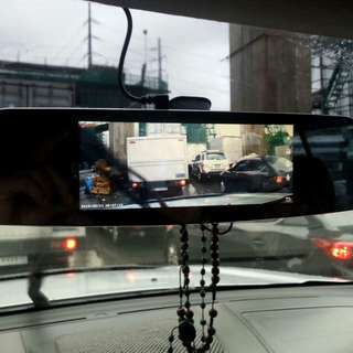 Center mirror Dash cam
