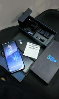 Samsung s8 plus 64gb fullset