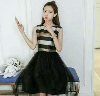 Glittery layer dress