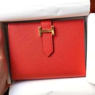 ✨Brand new ✨Hermes bearn compact wallet🐴🐴
