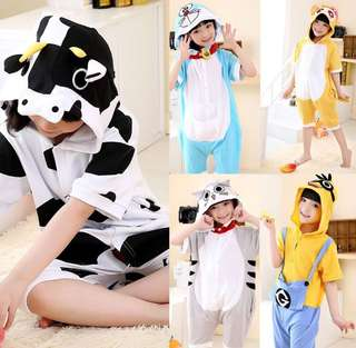 Sleepwear animal onesie jumpsuit