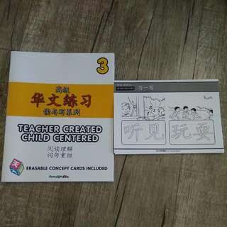 Chinese Assessment Book with Erasable Concept Cards (Book 3) with Erasable Concept Cards