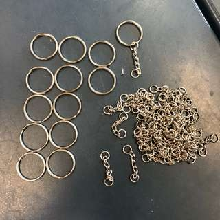 metal ring / chain / keychain ring