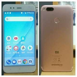 🚚 98% Nearly New Xiaomi A1 3G+64G Dual Sim Rose Gold