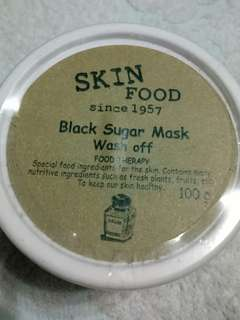 💓AUTHENTIC SKIN FOOD Black Sugar Mask