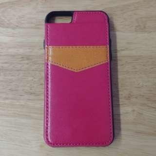 IPhone 6 back flip wallet case