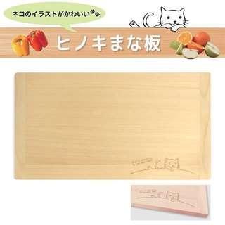 日本品牌/Merepere/雷射雕刻貓咪柏樹覘板-預購