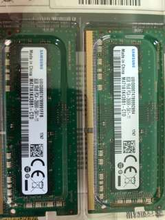 2666 mhz DDR4 8GB x 2 - 16GB kit Ram (Samsung)