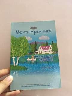 口足畫家繪製行事曆 monthly planner 2004 (買野可送)