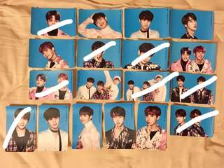 OFFICIAL BTS THE WINGS TOUR STICKER KPOP BANGTAN