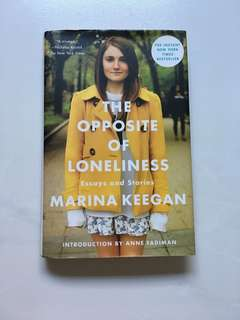 "(BOOK) Marina Keegan ""The Opposite of Loneliness"""