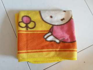 Miffy baby blanket
