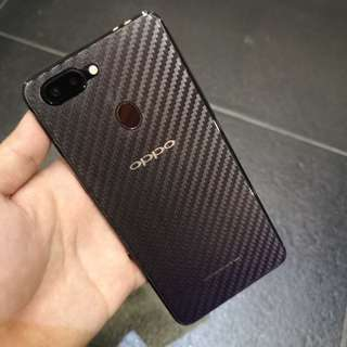 OPPO Transparent carbon fibre back protector