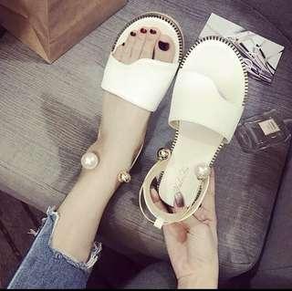 🚚 珍珠款涼鞋