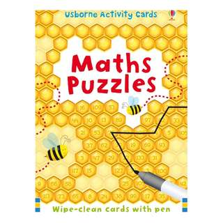 Usborne: Activity cards and tins - Maths puzzles