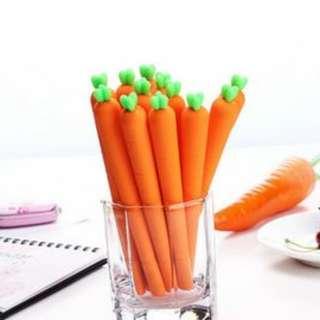 Cute Carrot Pen (Min 5 Pen)