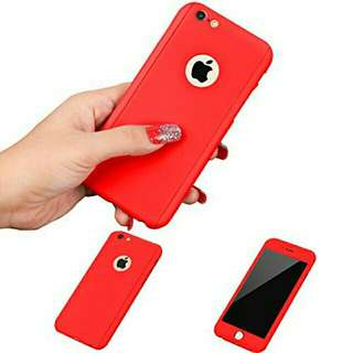 360° Case Full Cover (Red)