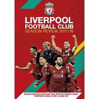 Liverpool 利物浦 17/18 Season review dvd
