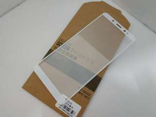 紅米 Note 5 全屏白色硬邊 9H鋼化玻璃膜 保護膜 手機保護貼