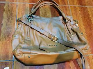 Authentic Sisley Two-way bag not michael kors anne klein mcm coach tommy tory