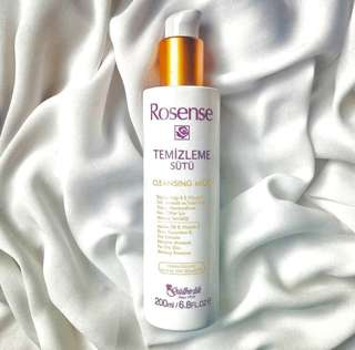 Rosense soap-free cleansing milk / eye & facial make-up remover (directly from Turkey)