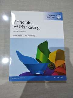 Buku principles of marketing