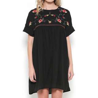 Embroidered dress
