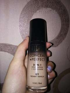 Milani 2in1 Foundation+Concealer Shade 01