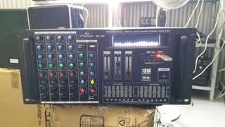 Brand New Professional Digital Echo Mixer Power Amplifier with Build in Bluetooth Functiob