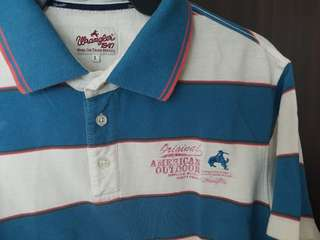 Wrangler Striped Polo Shirt