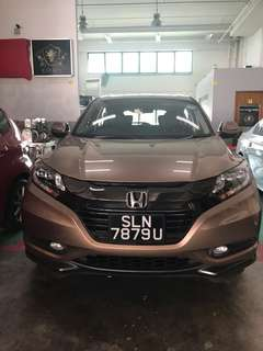 Honda Vezel Hybrid For Taking Over
