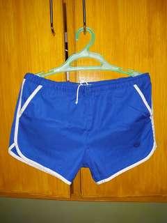 Adjustable waist blue short xL-xxL