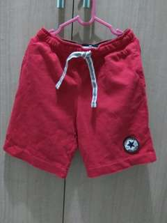 Convers Red Short Pants (Original)
