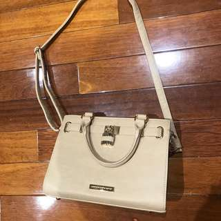 Colette Hayman Nude Crossbody Bag