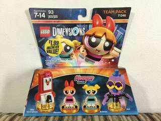 LEGO 71343 The Powerpuff Girls™ Team Pack Blossom Bubbles