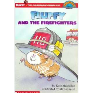 Fluffy and the Fire Fighters Paperback HELLO READER LEVEL 3 English  By (author)  Kate McMullan