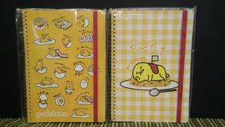 Gudetama Note Book 蛋黄哥记事本