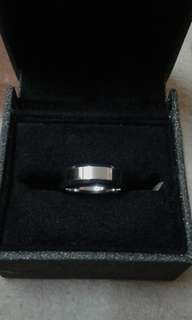 Platinum Ring (Size 8 / 18.2mm Diameter)