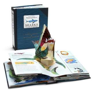 Pop-up book: Sharks and Other Sea Monsters