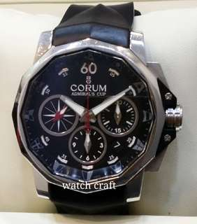 Used Limited Edition Corum Admirals Cup Men's Automatic 44mm Full Set