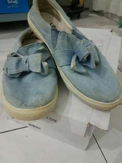 Little Things She Need Denim Canvas Shoes