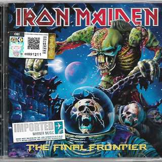 IRON MAIDEN The Final Frontier Imported CD