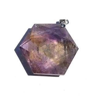 Crystal紫黄晶六芒星